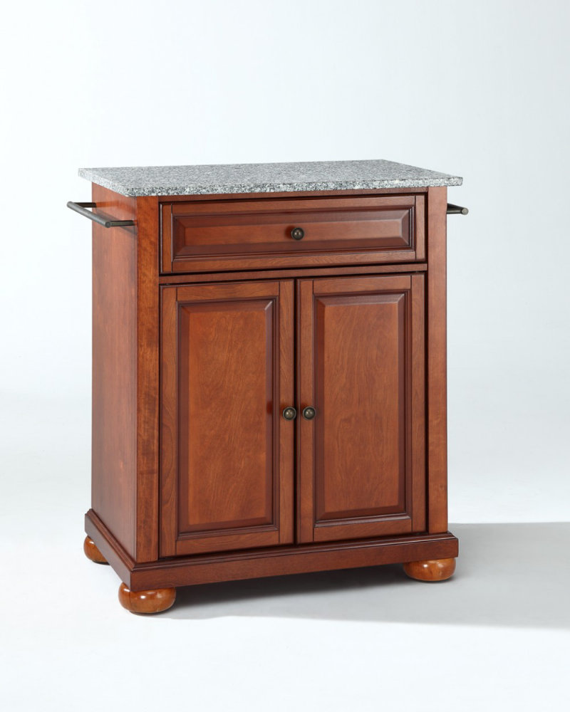 Crosley Furniture Kitchen Island Crosley Alexandria Solid Granite Top Portable Kitchen Island