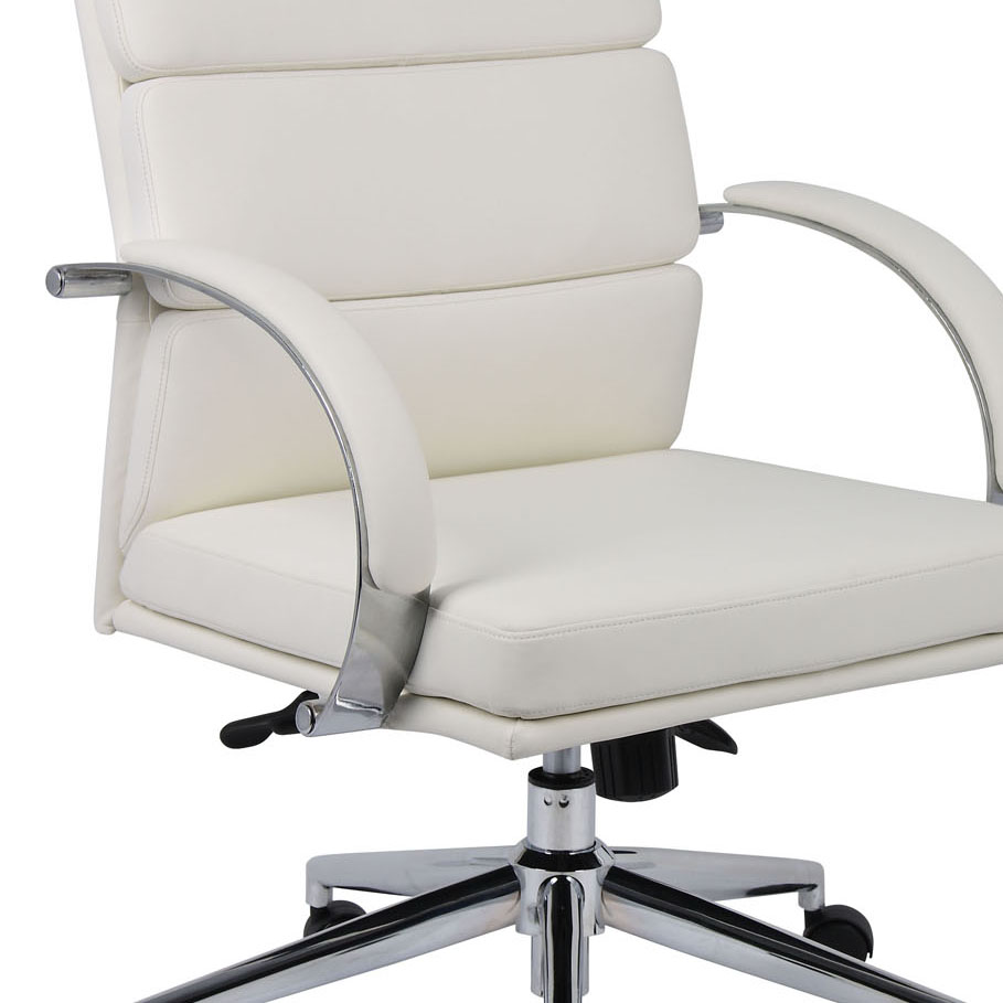 boss chairs b9401 wt caressoftplus executive office chair