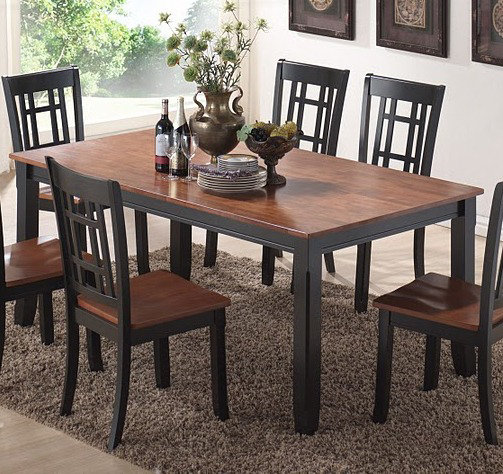 canterbury huntington 5 piece dining room set efurniture mart