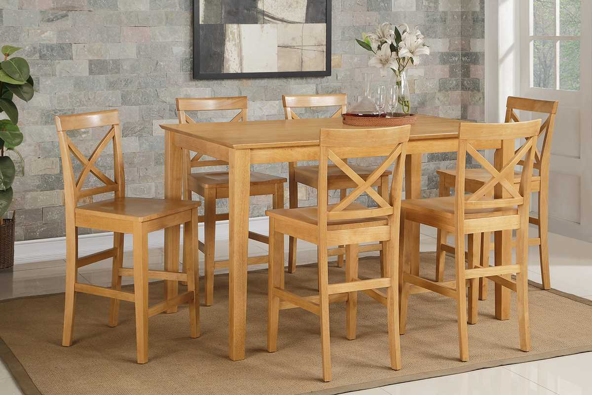 Wonderful Solid Oak Pub Table Sets Photos Best Image Engine & Oak Pub Tables Image collections - Bar Height Dining Table Set