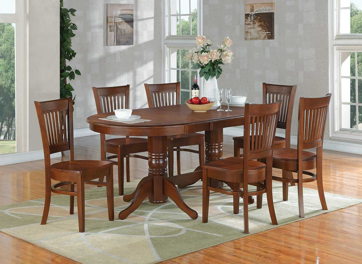 east west furniture vancouver 9 piece 76x40 oval dining east west furniture kenley 5 piece 60x42 oval dining room