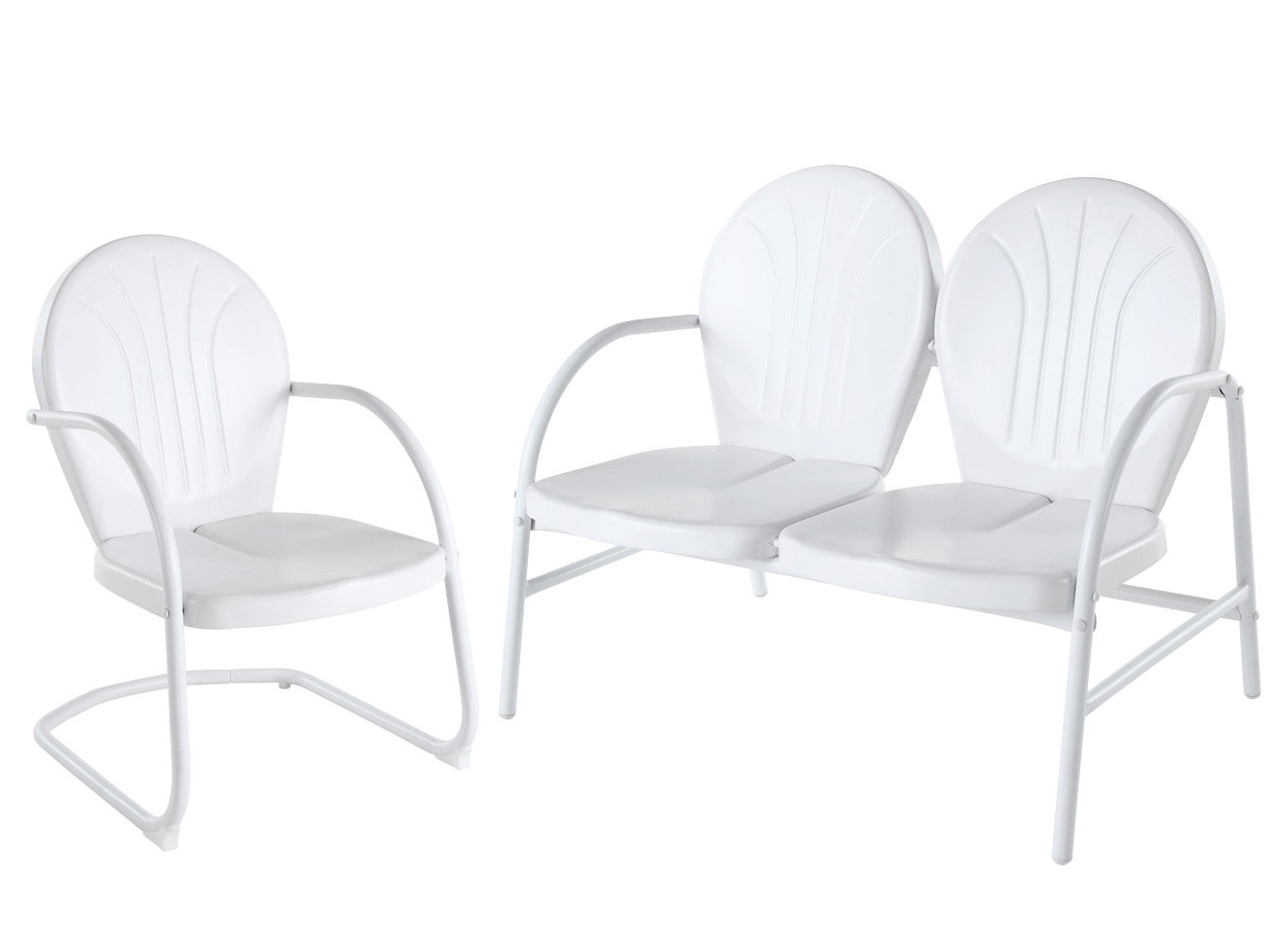 Crosley Furniture Griffith 2 Piece Outdoor Seating Set