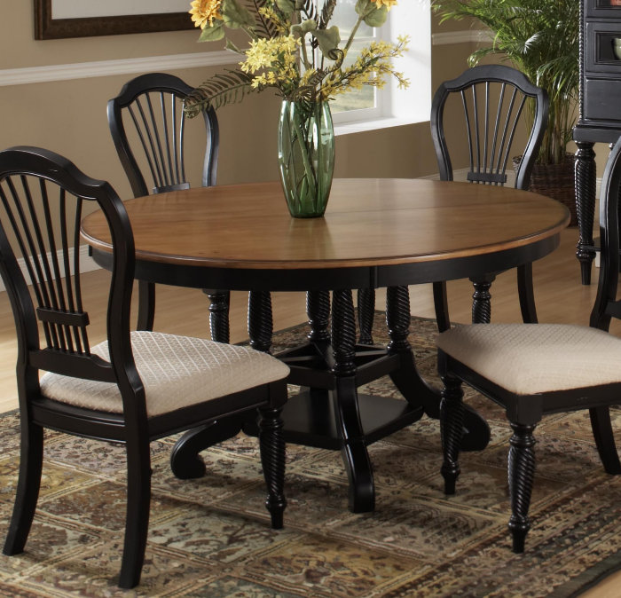 Hillsdale-Wilshire-7-Piece-Round-Dining-Room-Set-w--Side-Chairs-in ...