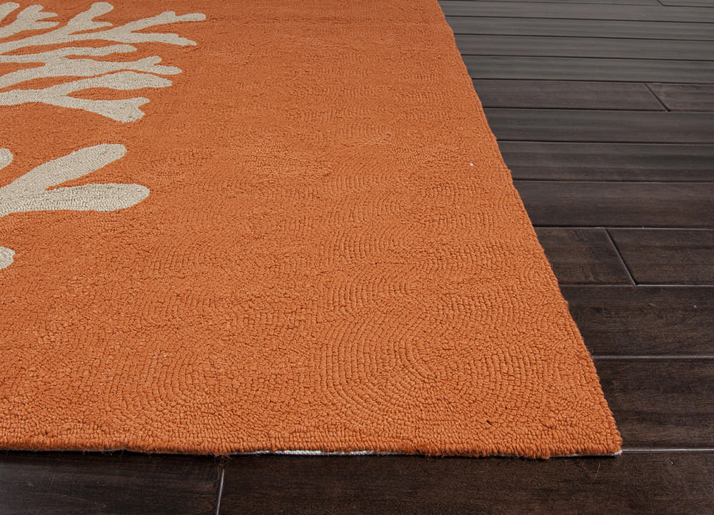 Jaipur Rugs Abstract Pattern Red and Orange Indoor and