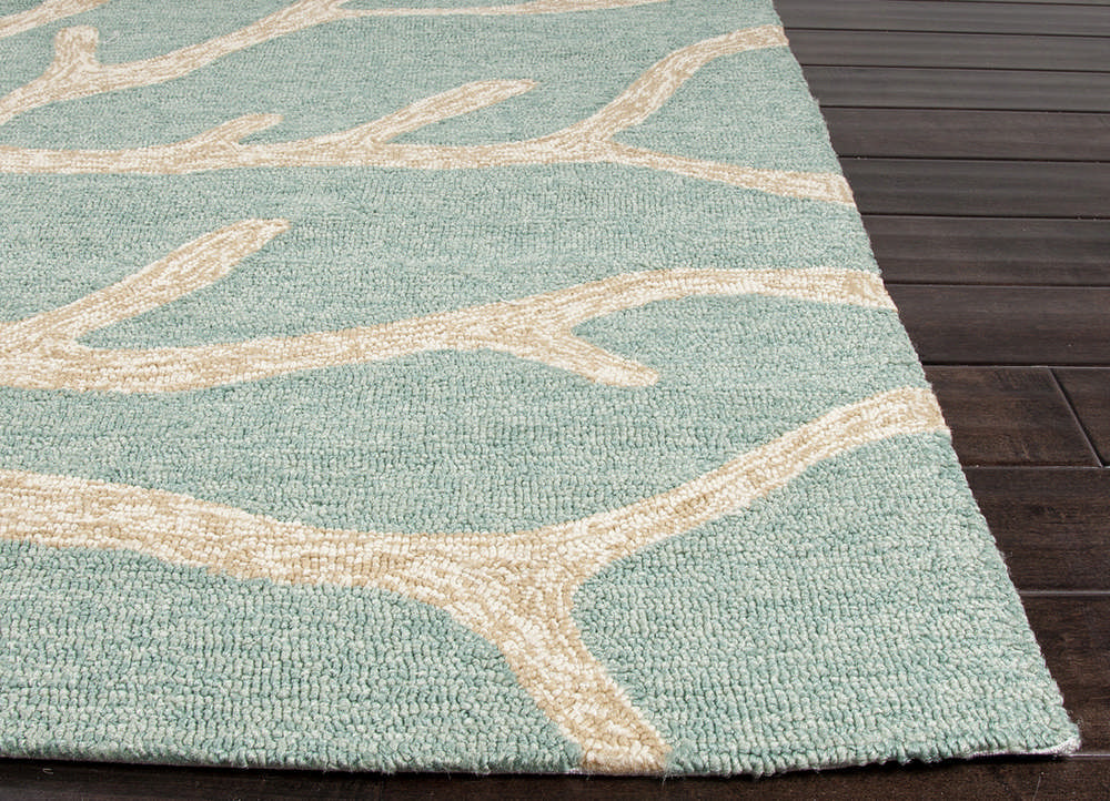 Jaipur Rugs Coastal Pattern Blue Indoor and Outdoor Runner