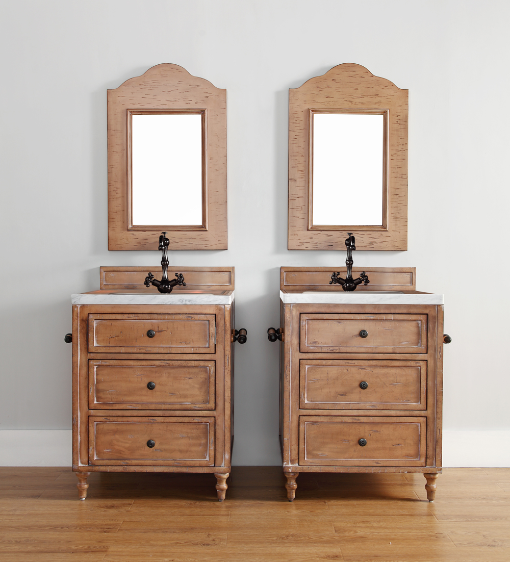 Elegant  Classico 48quot Single Bathroom Vanity In Driftwood Patina  300V48DRP