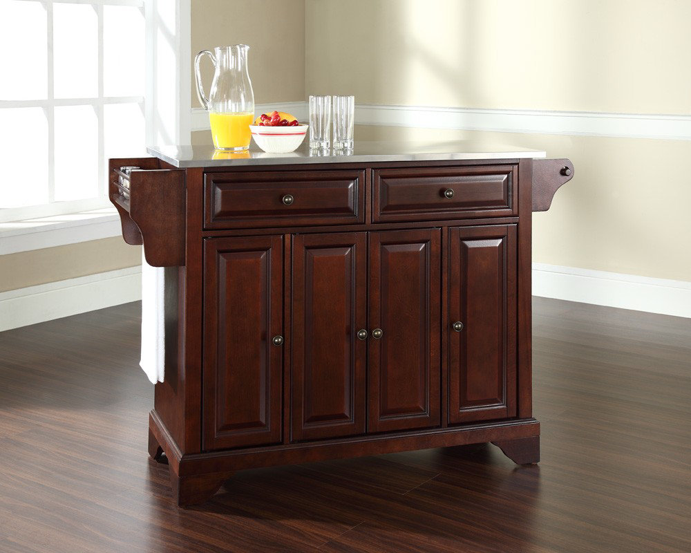 Crosley Furniture Kitchen Island Crosley Kitchen Island With Stainless Steel Top Best Kitchen