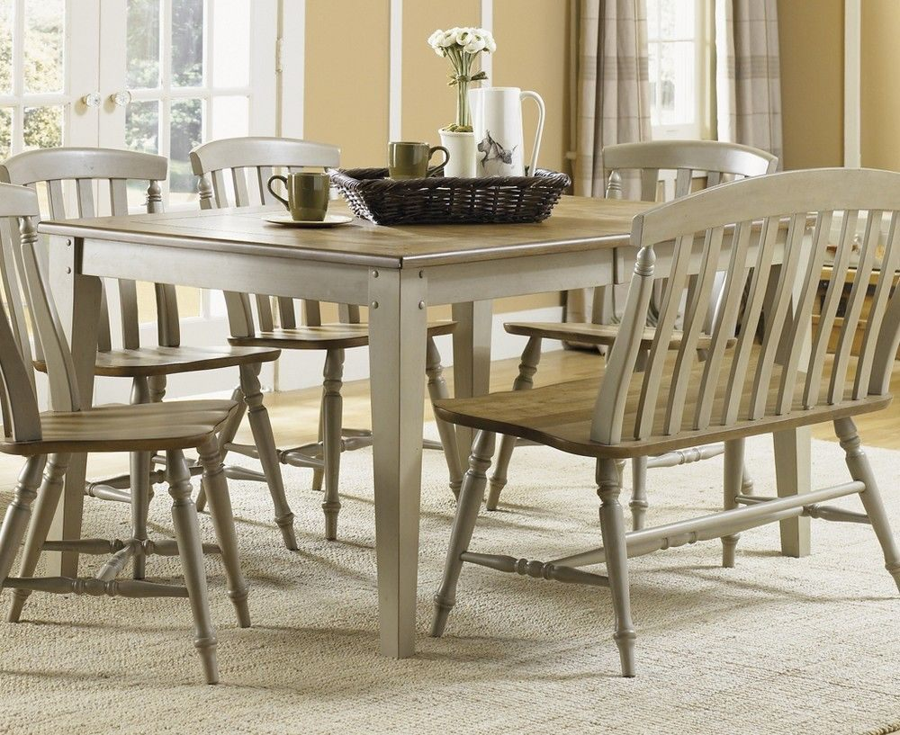 liberty furniture al fresco 7 piece 74x40 dining room set