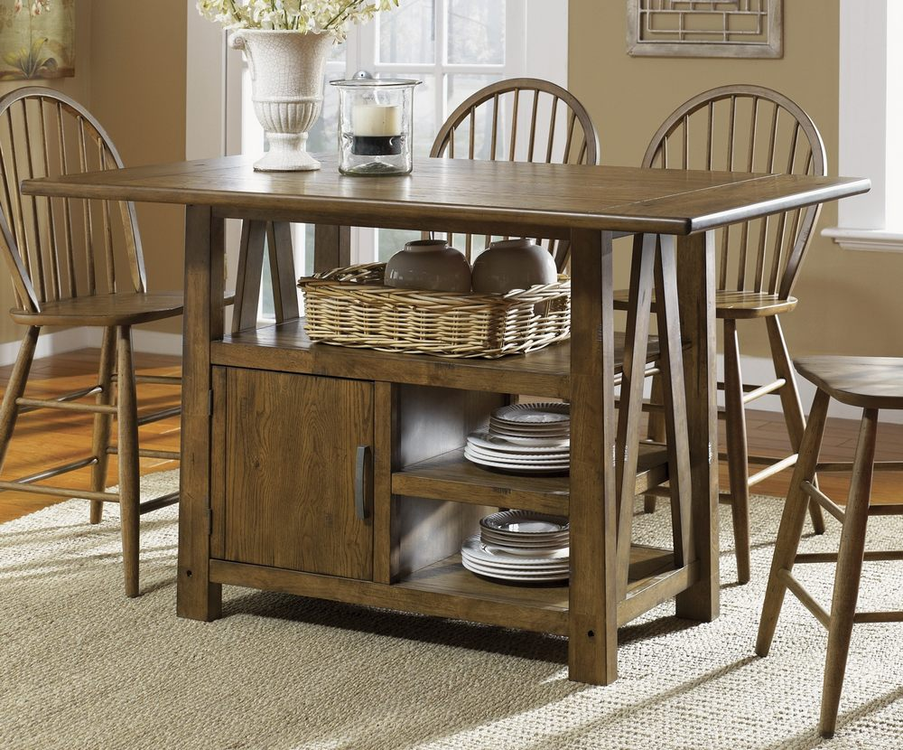 ... Liberty Furniture Farmhouse Traditional Kitchen Island W ...