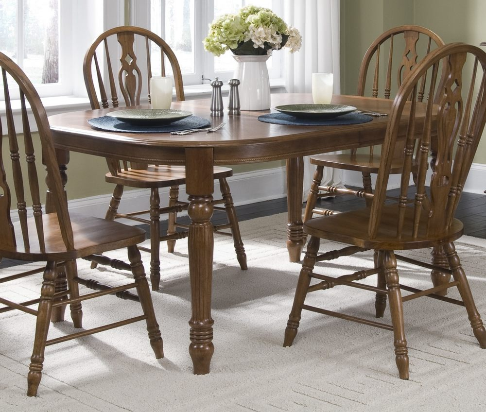 liberty furniture old world 5 piece 78x40 dining room set w embossed