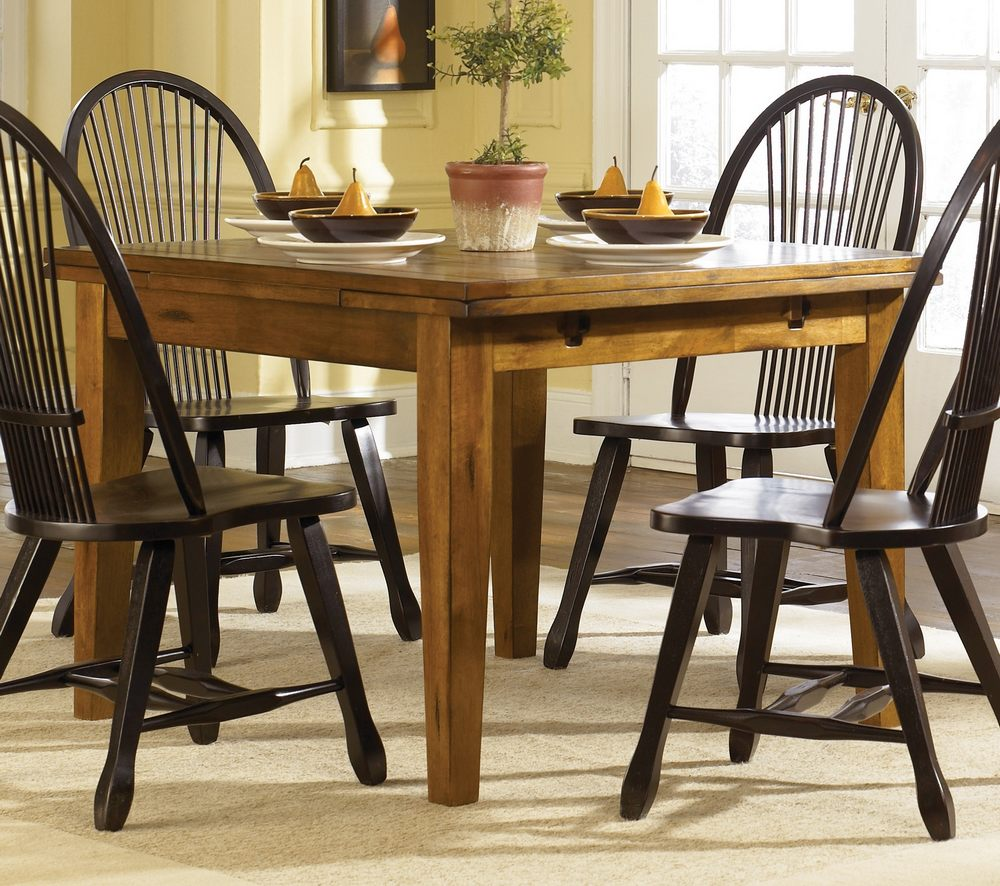 Liberty Furniture Treasures 5 Piece 68x38 Dining Room Set In Oak And