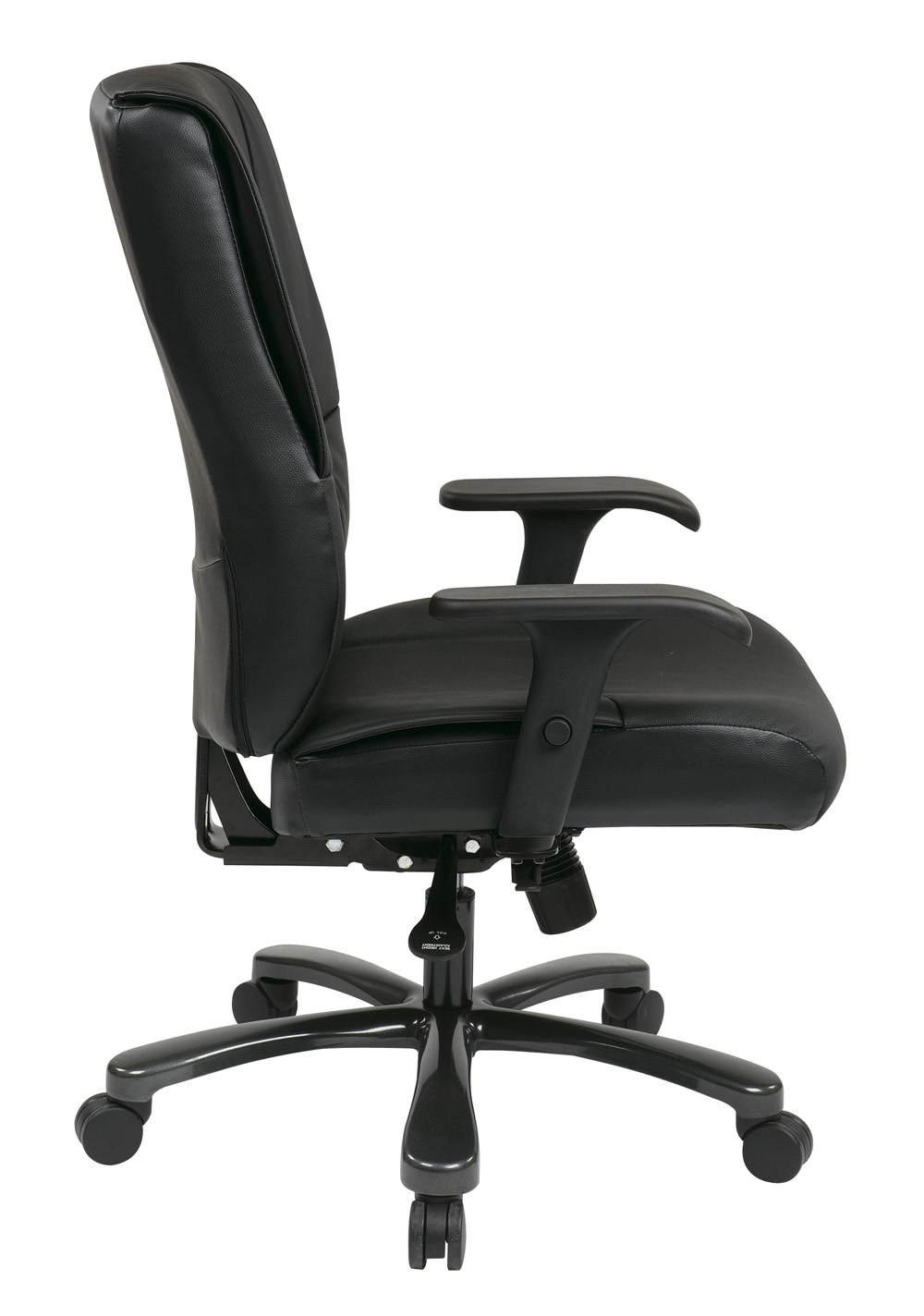 Office Star Big Tall Deluxe Executive Leather Chair EFurniture