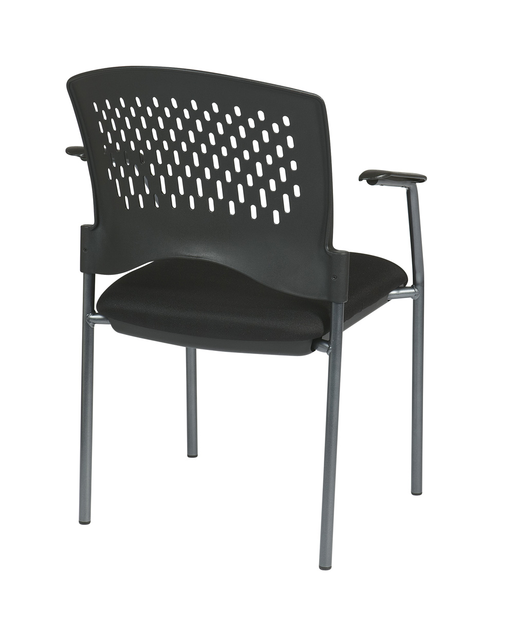 fice Star Products Titanium Finish Visitors Chair w