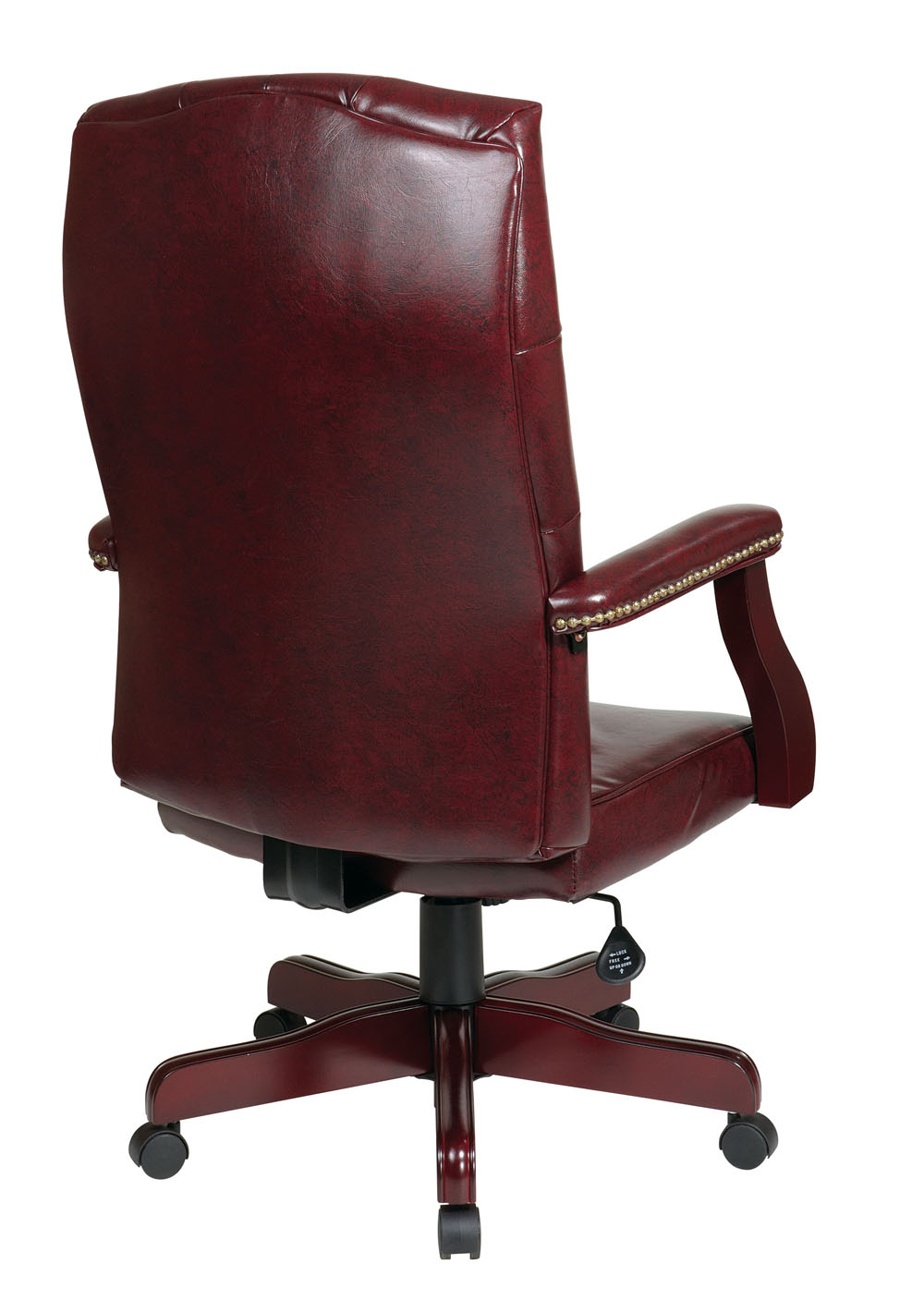 Office Star Products Traditional Executive Chair W Padded Arms EFurniture