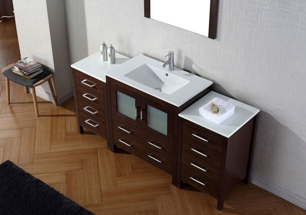 Beautiful It Is Designed For The Bathroom Its Front A Mirror In A White Frame It Is A Perfect Combination Of Practicality, Usability And Aesthetics It Is A Practical Piece Of Furniture Together  Found By Jocelyn1Walker0 Virtu USA MD2060WMSQWH