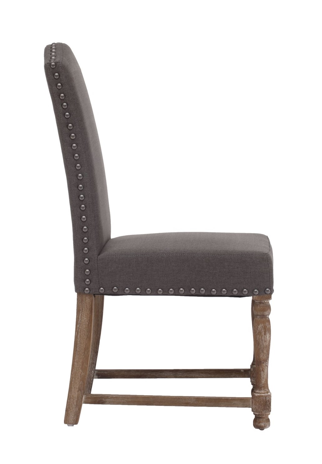 richmond traditional dining chair in charcoal gray efurniture mart