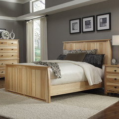 Buy A-America Furniture Adamstown Panel Bed in Natural on sale online
