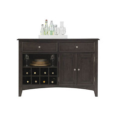 Buy A-America Furniture Bristol Point 51x21 Server in Warm Grey on sale online