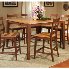 Buy A-America Furniture Bristol Point 54x36 Butterfly Leaf Gathering Height Table in Honey Chestnut on sale online