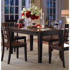 Buy A-America Furniture Bristol Point 60x38 Extension Dining Table in Oak Espresso on sale online