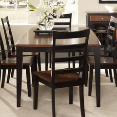 Buy A-America Furniture Bristol Point 60x42 Butterfly Leaf Dining Table in Oak Espresso on sale online