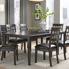 Buy A-America Furniture Bristol Point 60x42 Butterfly Leaf Dining Table in Warm Grey on sale online