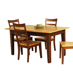 Buy A-America Furniture Bristol Point 78x42 Butterfly Leaf Dining Table in Honey Chestnut on sale online