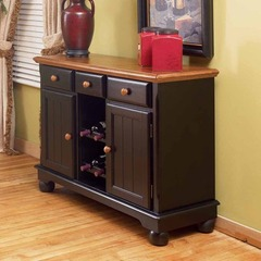 Buy A-America Furniture British Isles 48x18 Server in Honey Espresso on sale online