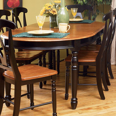 Buy A-America Furniture British Isles 52x42 Extension Dining Table in Honey Espresso on sale online