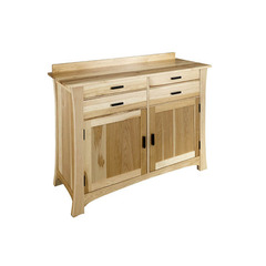 Buy A-America Furniture Cattail Bungalow 56x21 Sideboard in Natural Hickory on sale online
