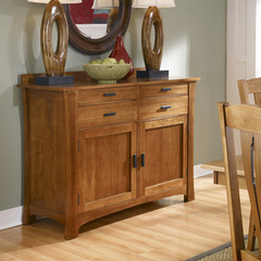 Buy A-America Furniture Cattail Bungalow 56x21 Sideboard in Warm Amber on sale online