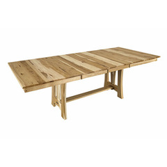 Buy A-America Furniture Cattail Bungalow 60x42 Extension Dining Table in Natural Hickory on sale online