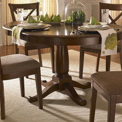 Buy A-America Furniture Desoto 42x42 Extension Dining Table in Burnished Sienna on sale online