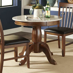 Buy A-America Furniture Granite Convertible 34x34 Granite Top Dining/Gathering Table in Brown Java on sale online