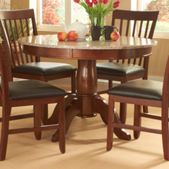 Buy A-America Furniture Granite Convertible 44x44 Granite Top Dining/Gathering Table in Brown Java on sale online