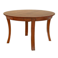 Buy A-America Furniture Grant Park 50x50 Round Butterfly Leaf Dining Table in Pecan on sale online