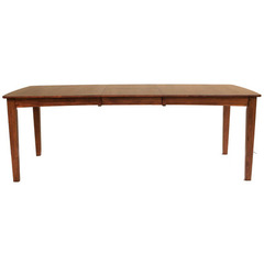 Buy A-America Furniture Grant Park 68x42 Butterfly Leaf Leg Dining Table in Pecan on sale online