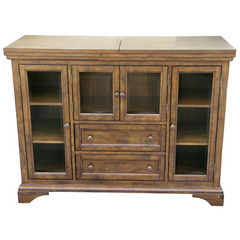 Buy A-America Furniture Mariposa 48x18 Flip-Top Server in Rustic Whiskey on sale online