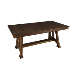 Buy A-America Furniture Ozark 72x40 Butterfly Leaf Trestle Dining Table in Warm Pecan on sale online