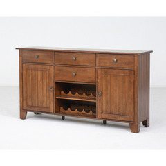 Buy A-America Furniture Toluca 66x18 Server in Rustic Amber on sale online