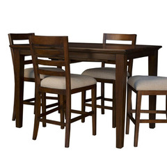 Buy A-America Furniture Westlake 54x36 Butterfly Leaf Gathering Height Table in Cherry Brown on sale online