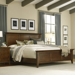 Buy A-America Furniture Westlake Panel Bed in Cherry Brown on sale online