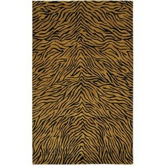 Buy Chandra Rugs Aadi Hand-Knotted Contemporary Brown Rug - AAD1401 on sale online