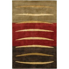 Buy Chandra Rugs Aadi Hand-Knotted Contemporary Multi Rug - AAD1359 on sale online