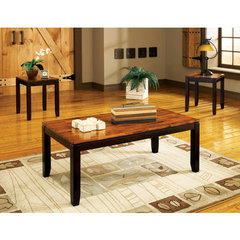 Buy Steve Silver Abaco 3 Piece Occasional Table Set in Acacia on sale online