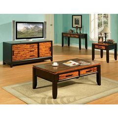 Buy Steve Silver Abaco 4 Piece Occasional Table Set in Acacia on sale online