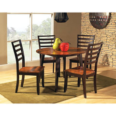 Buy Steve Silver Abaco 5 Piece Double Drop Leaf 42x42 Round Dining Room Set on sale online