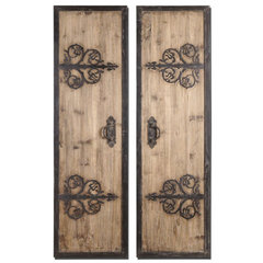 Buy Uttermost Abelardo Panels 20x71 Wall Mirror (Set of 2) on sale online