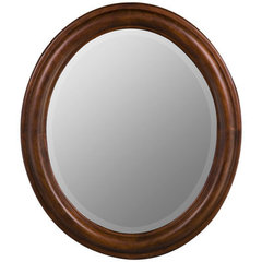 Buy Cooper Classics Addison 30x26 Oval Mirror in Vineyard on sale online