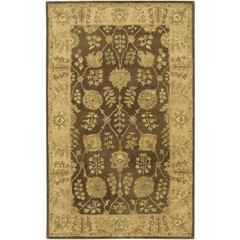 Buy Chandra Rugs Adonia Hand-Tufted Traditional Yellow Rug - ADO901 on sale online